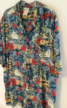 Disney Parks Mickey Mouse Hawaiian Mens XL Shirt Tiki Pluto Donald Duck Rayon | Clothing, Shoes & Accessories, Men's Clothing, Casual Shirts | eBay!