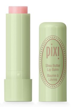 """""""A really nice sheer conditioning with a hint of tint for the lips."""" Pixi Shea Butter Lip Balm, $8, target.com. Courtesy Pixi  - HarpersBAZAAR.com"""