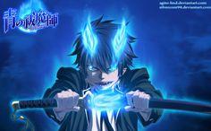 Run Okumura Blue exorcist