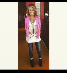 Whole outfit from Southern Jewlz!! Megan is rocking it! Girlfriend of PRCA bullrider Chandler Bownds!