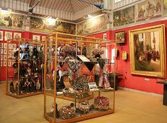 Schwarzwaldmuseum Triberg a treasure trove of the region's traditional arts: wood carving, costumes, and handicrafts