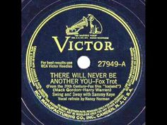 1942 Sammy Kaye - There Will Never Be Another You