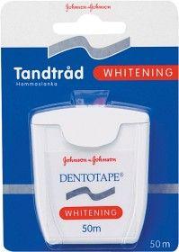 Köp Dentotape Whitening tandtråd 50 m på apotea.se