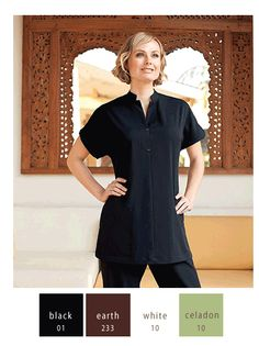 Terra Spa Tunic | Spa Uniforms | Waitstuff Uniforms