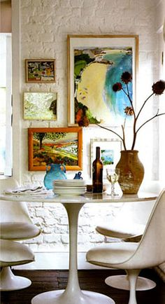 How To...Hang Artwork on A Brick Wall