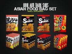 Asian Food Bag - Sims 3 Downloads CC Caboodle