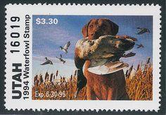 UT9  1994 Utah State Duck Stamp  MNH