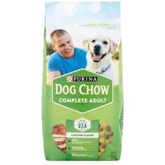 lbs Purina Dog Chow Complete Adult Dog Food - Pack of 4 @ You can check out the image by visiting the link. (This is an affiliate link and I receive a commission for the sales) Best Dog Food, Dry Dog Food, Purina Dog Chow, Food Pack, Pet Dogs, Pets, Dog Branding, Chicken Flavors