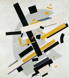 """There is movement and movement. There are movements of small tension and movements of great tension and there is also a movement which our eyes cannot catch although it can be felt. In art this state is called dynamic movement."" Kazimir #Malevich"