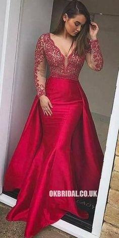 9871e172c47d 10 Best Red Mermaid Dress images | Ballroom Dress, Formal dress, Red ...