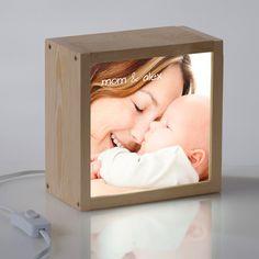 Caja de luz con la foto y el texto que tu elijes. El regalo perfecto