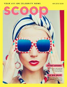 Yellow Retro Gossip Magazine Cover Stock Illustration – Canva