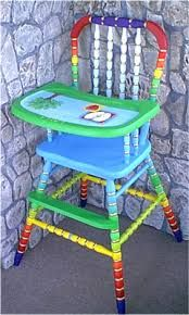 Image result for PAINTED HIGH CHAIR tables