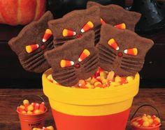 Halloween black cat cookies - TW