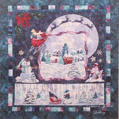 Magic in the Moonlight by McKenna Ryan, 2016 Block of the Month at Common Threads Quilting