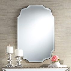 130 Bathroom Ideas Cool Floor Lamps Uttermost Mirrors Framed Mirror Wall