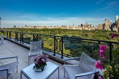 Located in the desirable House section of 15 Central Park West, this expansive duplex penthouse offers true design pedigree in Robert A.M. Stern's iconic limestone-clad towers with interiors by Lee F. Mindel of Shelton, Mindel & Associates.  Penthouse 16-17B offers spectacular 44 ft. wide frontage on Central Park with city views from grand windows on two levels and a fabulous approx. 396 sq. ft. terrace. Spanning 5,417 sq. ft. of impeccably finished living space, the penthouse is expertly...