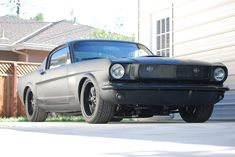 1965 Murdered Out Ford Mustang Fastback - this is what I want, no NEED my mustang to look like
