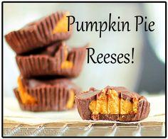 Pumpkin Peanut Butter Cups