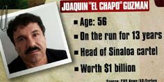 """Six surprising facts about world's deadliest drug lord """"El Chapo"""""""