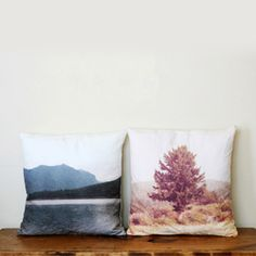 A tutorial on how to make pillows using your own photographs printed onto fabric.