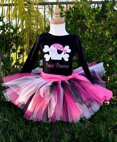 Princess Pirate Birthday Girl Tutu Outfit