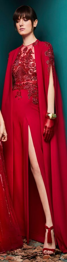 Zuhair Murad - Ready to Wear - Fall Winter Zuhair Murad, Red Fashion, Fashion Brands, Couture Collection, Beautiful Gowns, Fashion History, Lady In Red, Evening Gowns, Ready To Wear