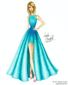 Taylor Swift 57th Grammy Awards by angelaaasketches on DeviantArt
