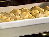 Cauliflower Gratin #cauliflower - used 3 tbs cornstarch to thicken, worked beautifully! Cheddar and parmesan cheese
