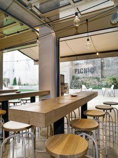 Picnic. Pamplona Enrique Kahle & Michel Arauzo. Arquitectos