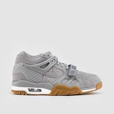 various colors 3d30e 688c1 NIKE AIR TRAINER 3 WOLF GREY GUM 705426-003 in Clothing, Shoes  amp