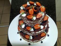 Naked cakes  Morango