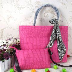 Large & Small Pink Handbags