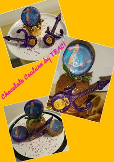 Chocolate Couture by TRACI... Tribute too PRINCE  Chocolate Goodies.. All Edible!! U.S. PATENT  20120368742 (Decorative Toothpick Mold)