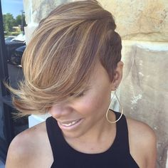 You will be surprised, but short haircuts and hairstyles for black women are not limited to just few options. We have 60 cute ideas for you and your perfect locks. Check these short black hairstyles and get inspired! Short Haircut Styles, Short Black Hairstyles, Short Styles, Asymmetrical Hairstyles, Pixie Styles, Bob Hairstyles, Short Sassy Hair, Short Hair Cuts, Love Hair