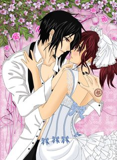 Sebastian x Mey-Rin || The Butler and the Maid - Underneath it All by LibertyBella on DeviantArt