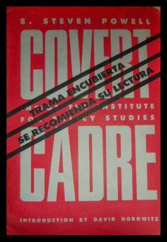 El Viejo Libro, Libreria Anticuaria, Edward Contreras Vergara, www.elviejolibro.tk: Trama Encubierta. Covert Cadre: inside the institu...