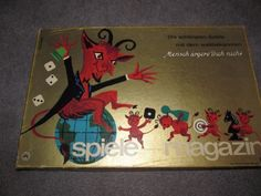Vintage-German-SPIELE-MAGAZIN-Collection-of-Games