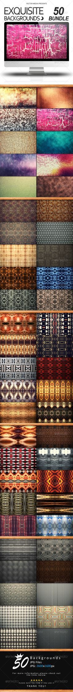 Exquisite Backgrounds - Bundle