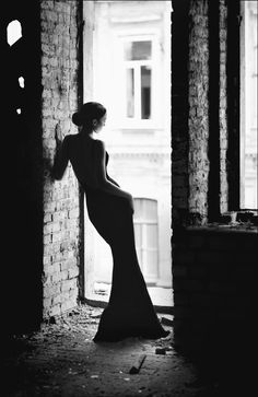 This type of dress, with a photoshoop of deep shadows would like really nice...  Photograph *** by Родион Рубин on 500px