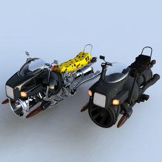 Hover Bikes by sicklilmonky on deviantART