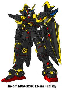 MSA-X286 Eternal Galaxy Gundam by SPARTAN-251 on DeviantArt
