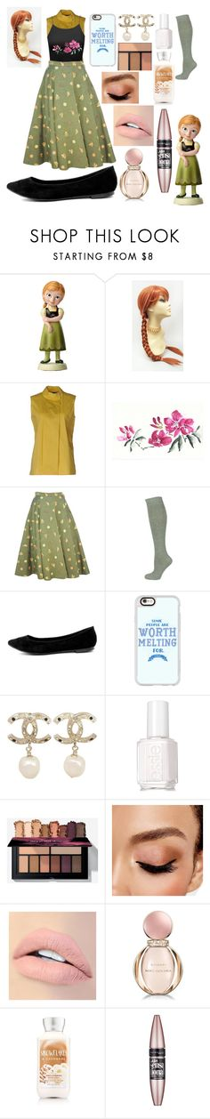 """DIY Young Anna!"" by sisibff ❤ liked on Polyvore featuring Brian Dales, Breckelle's, Casetify, Chanel, Essie, Avon, Jouer, Bulgari and Maybelline"