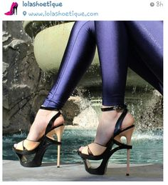 Shoes and leggings!