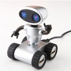 Get now creative technology robot USB hub, Compatible with PC and Mac.  #Technology #USB #Computer #Electronicgadgets #Mac