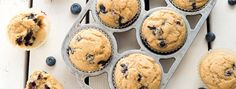 These are a perfectly delicious breakfast muffin with loads of berry goodness and a tasty, wheaty backdrop. If you can find wild blueberries, use them—they are perfect for muffins because they're tiny and distribute beautifully without making the muffin soggy....  Read more