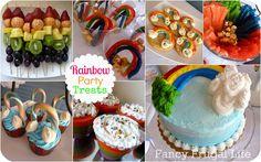 A Very Rainbow 4th Birthday Party  