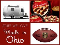 Stuff We Love, Made in Ohio: the latest in our popular state-by-state series, a guest post by Jessica Mudrick. Did we miss anything?