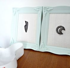 Dans le Lakehouse: DIY Framed Bakelite Brooch