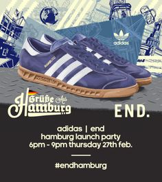 adidas and End Clothing proudly present the Hamburg launch.